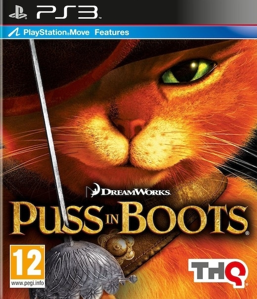Puss in Boots / Kot w Butach Move (PS3)